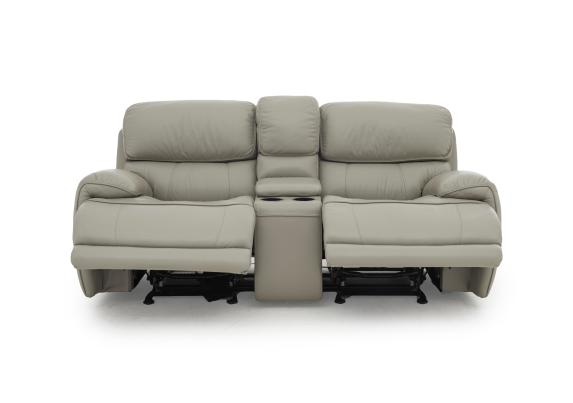 relax station loco 2 seater leather