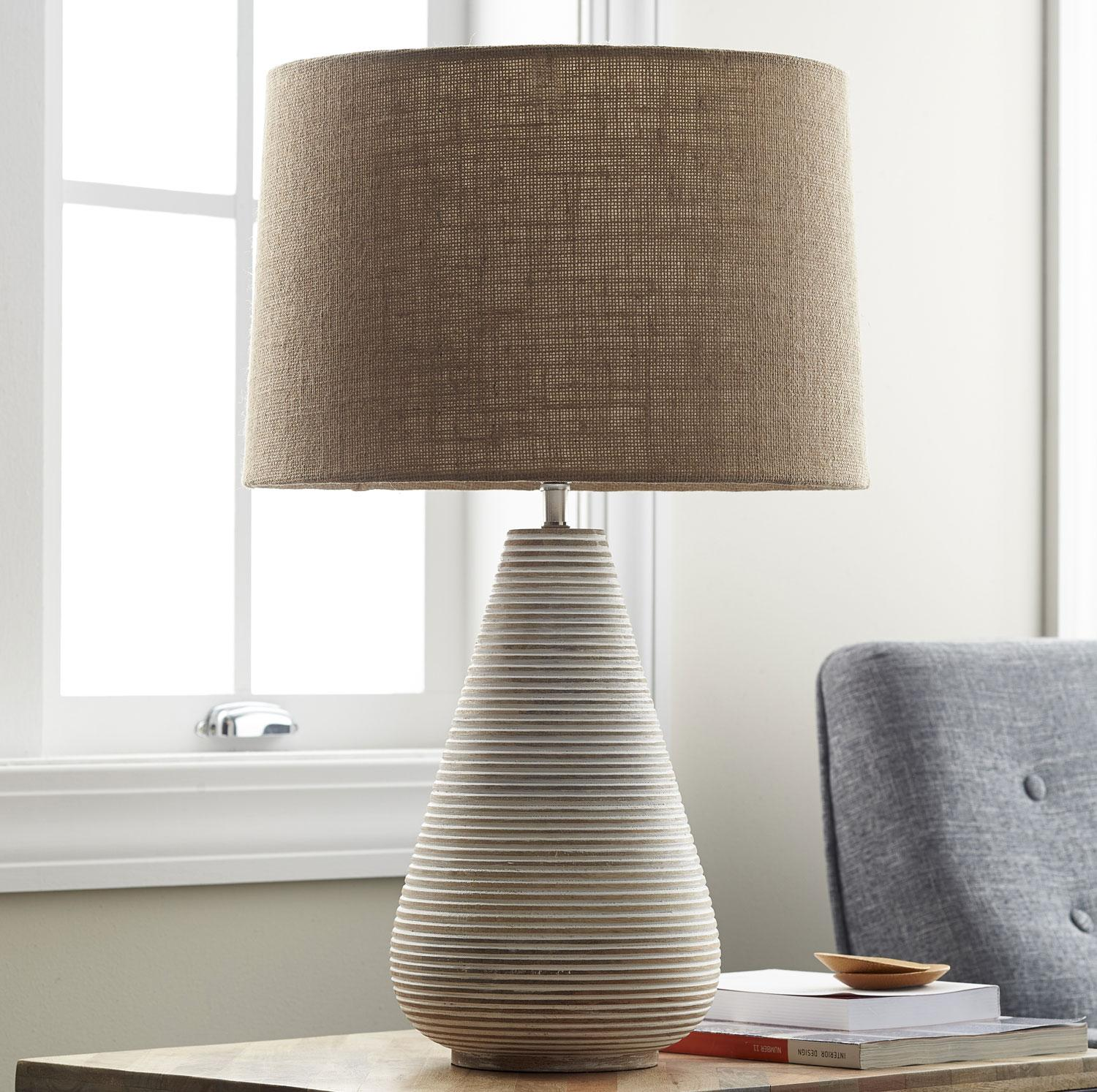 Ludlow Ribbed Table Lamp The Company Store