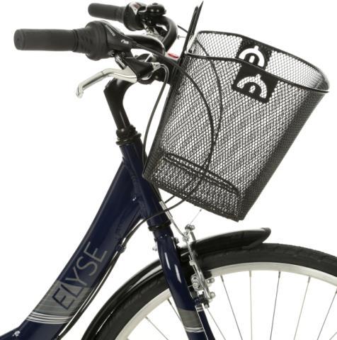 halfords wire bike basket