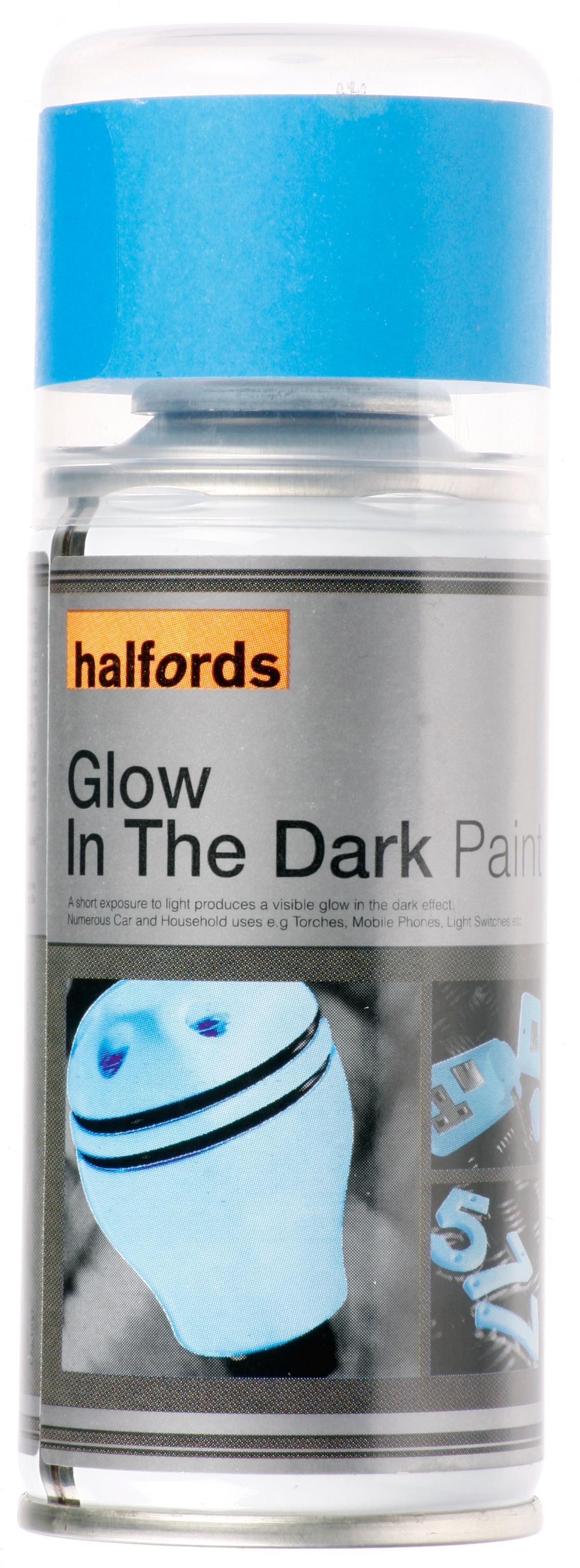 Blue Glow Dark Spray Paint