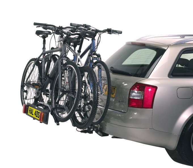 thule rideon 9403 3 bike towbar mounted bike rack
