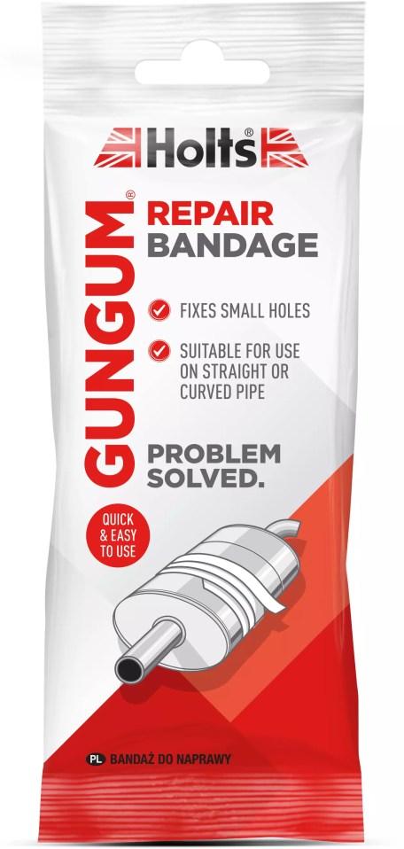 holts gun gum exhaust repair bandage