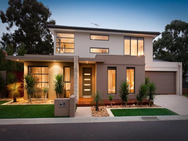Photo of a slate house exterior from real Australian home