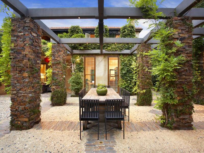 Photo of an outdoor living design from a real Australian ... on Aust Outdoor Living  id=43873
