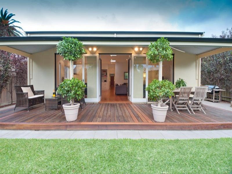 Multi-level outdoor living design with bbq area ... on Fancy Outdoor Living id=82322