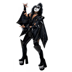 Authentic Gene Simmons Costume