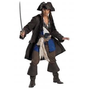 Adult Prestige Captain Jack Sparrow Costume