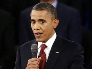Obama/Romney second debate at Hofstra University, NY