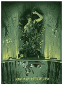 Rich Kelly's artwork based on 2013 Oscars movie Beasts of the Southern Wild