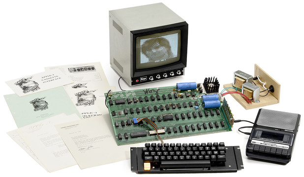 A working model of the Apple I computer