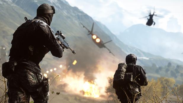 Running into battle on Golmud Railway on Battlefield 4