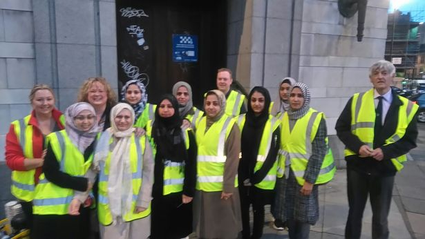 A great attempt of Women Auxiliary of Ahmadiyya Muslim association, Newcastle, to feed homeless people