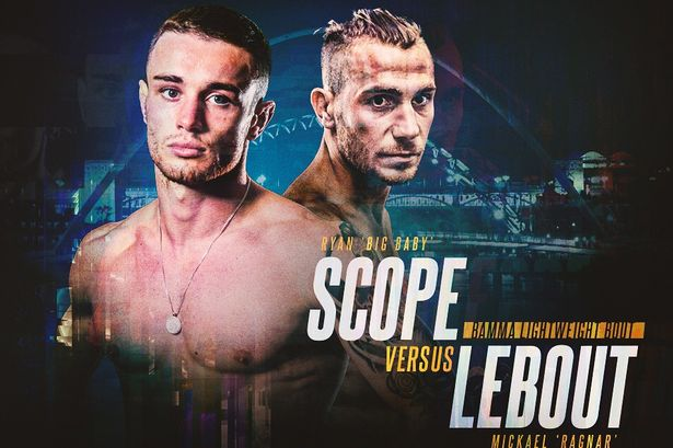 Ryan Scope out to show he belongs on the big stage at BAMMA Newcastle IMG 0956JPG