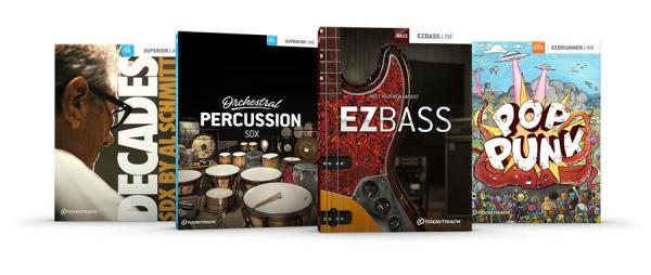 EZbass, Orchestral Percussion SDX and more