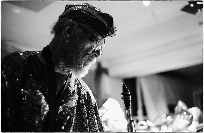 Marshall Allen at Cafe OTO - Photo by Fabio Lugaro