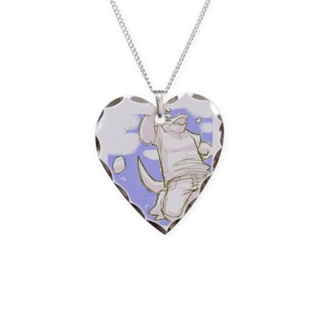 Zero gravity Necklace Heart Charm