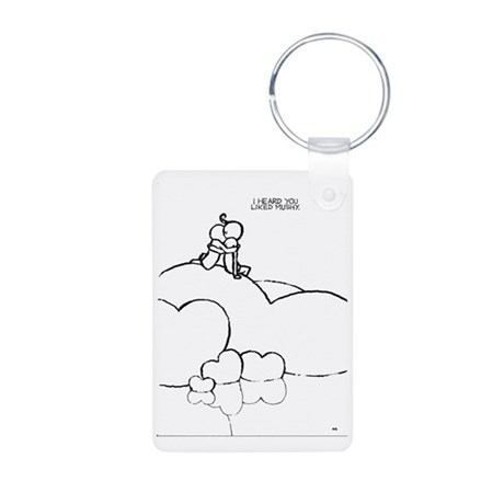 Mushy Aluminum Photo Keychain