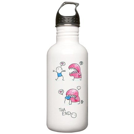 Love Chomped Stainless Water Bottle 1.0L