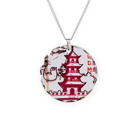 Go-zirra Necklace Circle Charm
