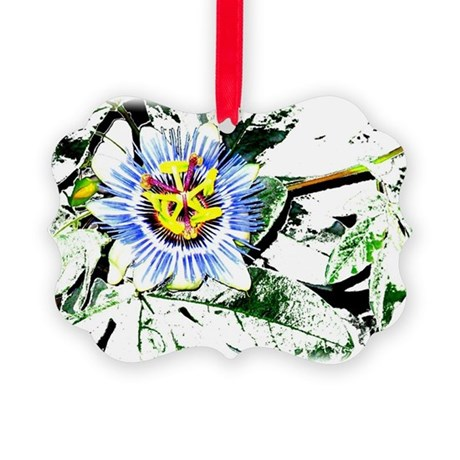 Flower Picture Ornament