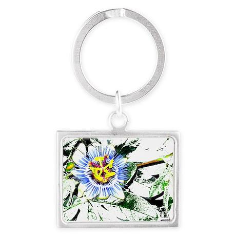 Flower Landscape Keychain