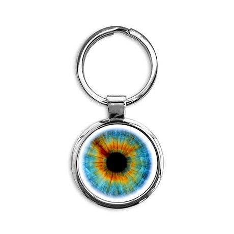 Eyescape Round Keychain