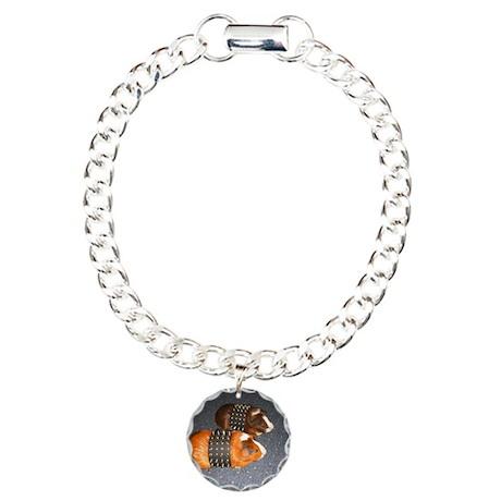 Butch Guineas Charm Bracelet, One Charm