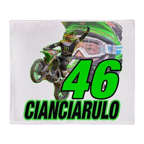 Cian46 Throw Blanket