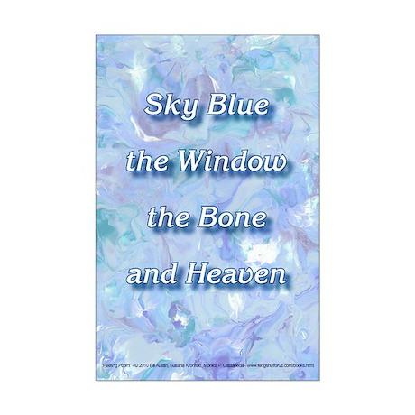 Healing Poem Mini Poster Print
