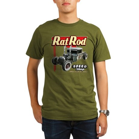 Rat Road Speed Shop - Pipes T-Shirt