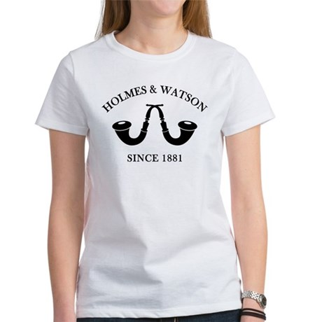 Holmes & Watson Since 1881 Women's T-Shirt