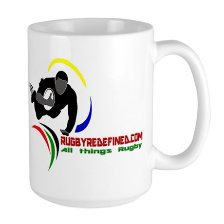Rugby Redefined Large Mug