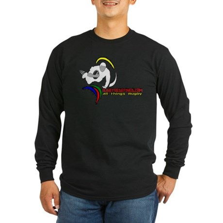 Rugby Redefined Long Sleeve Dark T-Shirt