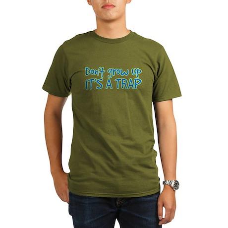 its a trap Organic Men's T-Shirt (dark)
