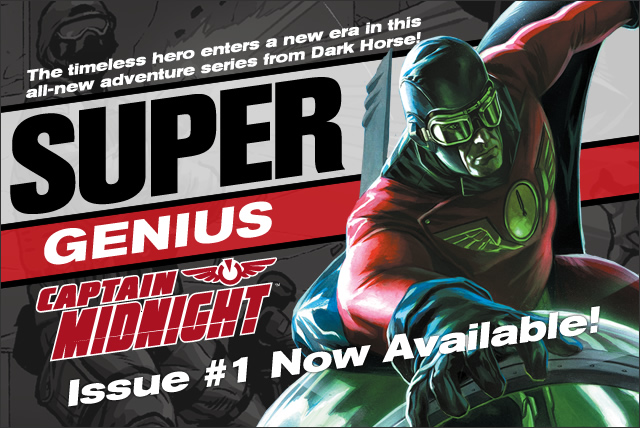 Captain Midnight #1 is here!