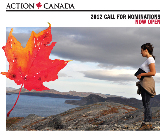 2012 Call for Nominations | Now Open