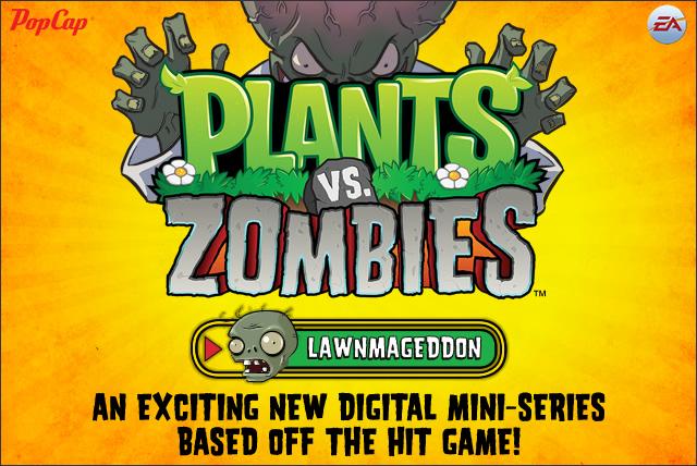 Plants vs Zombie comics!