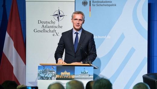 Secretary General stresses importance of transatlantic bond, INF Treaty
