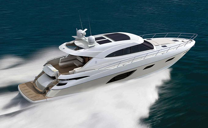 Riviera's new flagship Sport Yacht world premiere