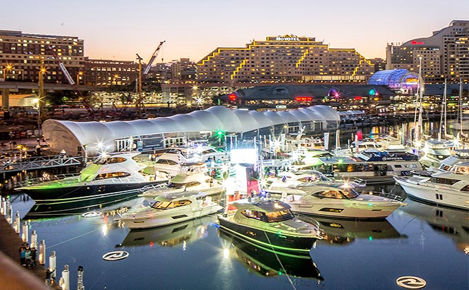 Riviera's new flagship Sport Yacht world premiere
