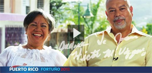 Andrea de Jesús y Héctor Vázquez, amigos de Fortuño