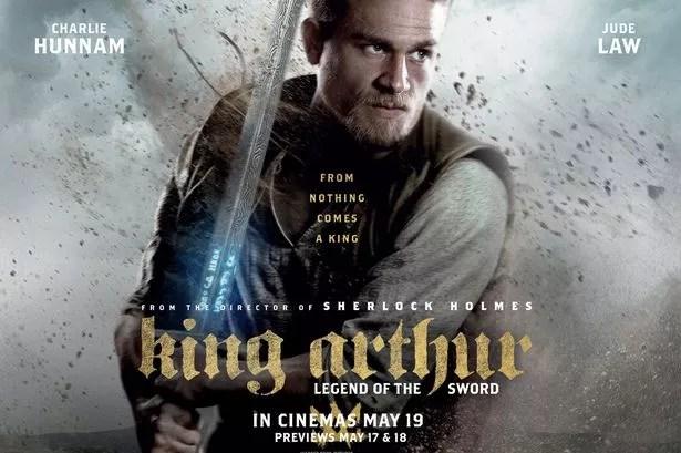 Image result for king arthur: legend of the sword poster