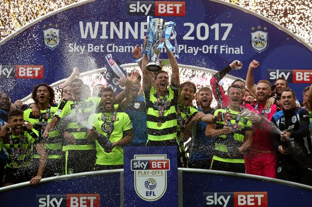 Image result for huddersfield town promotion 2017