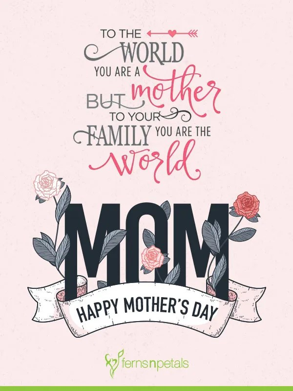 Be Kind to Mom This Sunday