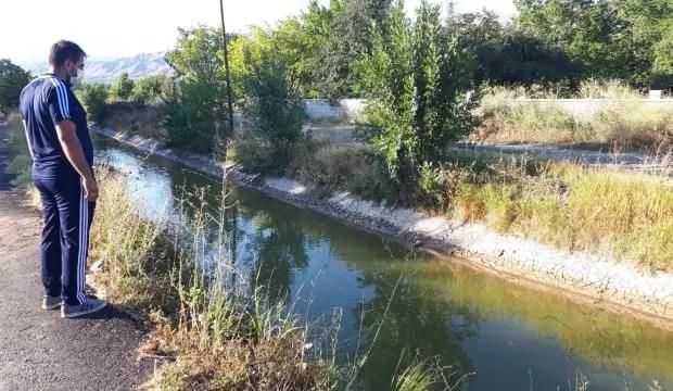 2 yaşındaki çocuk sulama kanalında boğuldu 1