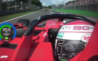 F1 2019 意大利站 勒克莱尔 杆位车载(带时速表)