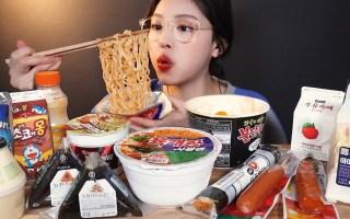 【Eat with boki中字】 便利店美食吃播