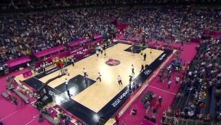 2012年伦敦奥运会男篮比赛  美国VS澳大利亚