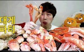 [韩国吃播][花猪]红蟹