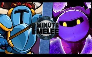 【乱斗60秒】铲子骑士VS铁面骑士【One Minute Melee】